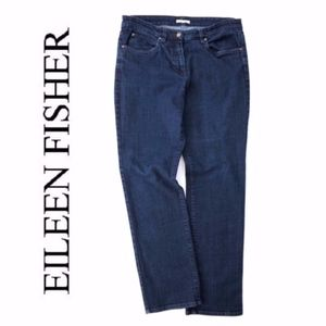Eileen Fisher Dark WAsh Jeans